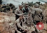 Image of M4 Sherman tank Saipan Northern Mariana Islands, 1944, second 1 stock footage video 65675028057