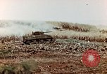 Image of M4 Sherman tank Saipan Northern Mariana Islands, 1944, second 8 stock footage video 65675028057