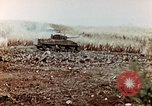 Image of M4 Sherman tank Saipan Northern Mariana Islands, 1944, second 11 stock footage video 65675028057