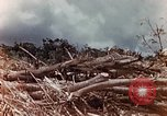 Image of U.S. marine throws hand grenade Saipan Northern Mariana Islands, 1944, second 8 stock footage video 65675028058