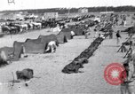 Image of Turkish cavalry camp Turkey, 1915, second 2 stock footage video 65675028064