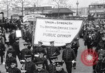Image of British protest sinking of Lusitania London England United Kingdom, 1915, second 6 stock footage video 65675028067