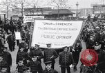 Image of British protest sinking of Lusitania London England United Kingdom, 1915, second 7 stock footage video 65675028067