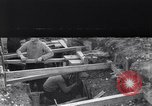 Image of French soldiers preparing reinforced trenches in World War I France, 1915, second 1 stock footage video 65675028071