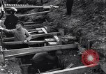 Image of French soldiers preparing reinforced trenches in World War I France, 1915, second 2 stock footage video 65675028071