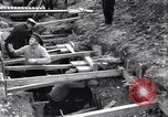 Image of French soldiers preparing reinforced trenches in World War I France, 1915, second 6 stock footage video 65675028071