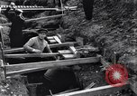 Image of French soldiers preparing reinforced trenches in World War I France, 1915, second 9 stock footage video 65675028071
