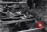 Image of French soldiers preparing reinforced trenches in World War I France, 1915, second 12 stock footage video 65675028071