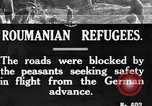 Image of Romanian refugees Romania, 1916, second 1 stock footage video 65675028072
