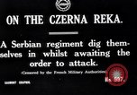 Image of Serbian regiment The Balkans, 1916, second 4 stock footage video 65675028074
