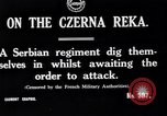 Image of Serbian regiment The Balkans, 1916, second 7 stock footage video 65675028074
