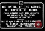Image of Battery of French 75 field pieces Curlu France, 1915, second 1 stock footage video 65675028076