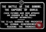 Image of Battery of French 75 field pieces Curlu France, 1915, second 3 stock footage video 65675028076