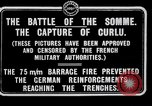 Image of Battery of French 75 field pieces Curlu France, 1915, second 4 stock footage video 65675028076