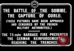 Image of Battery of French 75 field pieces Curlu France, 1915, second 6 stock footage video 65675028076