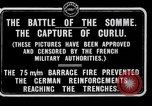 Image of Battery of French 75 field pieces Curlu France, 1915, second 8 stock footage video 65675028076