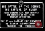 Image of Battery of French 75 field pieces Curlu France, 1915, second 9 stock footage video 65675028076