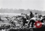 Image of Battery of French 75 field pieces Curlu France, 1915, second 12 stock footage video 65675028076