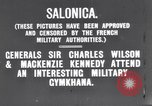 Image of General George Milne Salonica Greece, 1916, second 5 stock footage video 65675028078