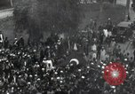 Image of Egyptian crowd greets Saad Zaghlul Pasha returning from exile Cairo Egypt, 1921, second 2 stock footage video 65675028079