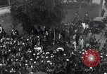 Image of Egyptian crowd greets Saad Zaghlul Pasha returning from exile Cairo Egypt, 1921, second 3 stock footage video 65675028079