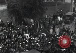 Image of Egyptian crowd greets Saad Zaghlul Pasha returning from exile Cairo Egypt, 1921, second 4 stock footage video 65675028079