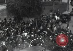 Image of Egyptian crowd greets Saad Zaghlul Pasha returning from exile Cairo Egypt, 1921, second 7 stock footage video 65675028079