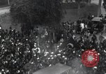 Image of Egyptian crowd greets Saad Zaghlul Pasha returning from exile Cairo Egypt, 1921, second 10 stock footage video 65675028079