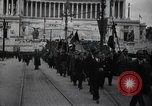 Image of fascist convention Italy, 1919, second 2 stock footage video 65675028083