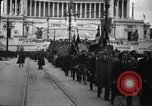 Image of fascist convention Italy, 1919, second 5 stock footage video 65675028083
