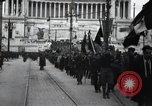 Image of fascist convention Italy, 1919, second 8 stock footage video 65675028083