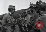 Image of Emperor Charles I reviews troops World War 1 Austria, 1918, second 2 stock footage video 65675028087