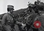 Image of Emperor Charles I reviews troops World War 1 Austria, 1918, second 3 stock footage video 65675028087