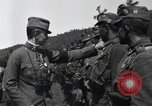 Image of Emperor Charles I reviews troops World War 1 Austria, 1918, second 4 stock footage video 65675028087