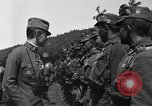 Image of Emperor Charles I reviews troops World War 1 Austria, 1918, second 5 stock footage video 65675028087