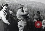 Image of Emperor Charles I reviews troops World War 1 Austria, 1918, second 6 stock footage video 65675028087