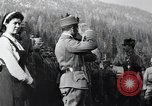 Image of Emperor Charles I reviews troops World War 1 Austria, 1918, second 7 stock footage video 65675028087
