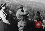 Image of Emperor Charles I reviews troops World War 1 Austria, 1918, second 8 stock footage video 65675028087