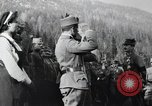 Image of Emperor Charles I reviews troops World War 1 Austria, 1918, second 10 stock footage video 65675028087