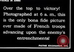 Image of French soldiers France, 1917, second 4 stock footage video 65675028094