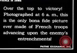 Image of French soldiers France, 1917, second 7 stock footage video 65675028094