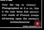 Image of French soldiers France, 1917, second 8 stock footage video 65675028094