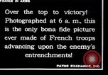 Image of French soldiers France, 1917, second 10 stock footage video 65675028094