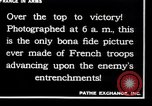 Image of French soldiers France, 1917, second 12 stock footage video 65675028094