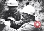 Image of Wounded French soldiers being treated France, 1918, second 8 stock footage video 65675028096
