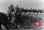 Image of British cavalry France, 1917, second 2 stock footage video 65675028101