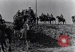 Image of British cavalry France, 1917, second 6 stock footage video 65675028101