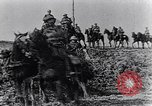 Image of British cavalry France, 1917, second 9 stock footage video 65675028101