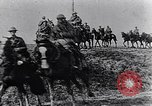 Image of British cavalry France, 1917, second 10 stock footage video 65675028101