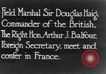 Image of Douglas Haig France, 1935, second 1 stock footage video 65675028104